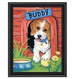 Paint Works Cute Puppy (Intermediate)