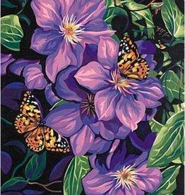 Paint Works Clematis & Butterflies (Expert)