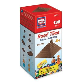 Bric Tek Roof Tiles (Brown)