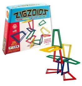 ZigZoids - Trapezoidal Sculpture Set (Colors)