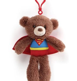 Superman Bear Keychain