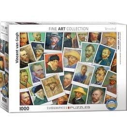 Eurographics Van Gogh Selfies (1000pc)