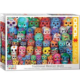 Eurographics Traditional Mexican Skulls (1000pc)