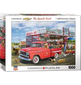 Eurographics 1958 Chevrolet Apache (1000pc)