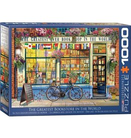 Eurographics The Greatest Bookstore in the World (1000pc)