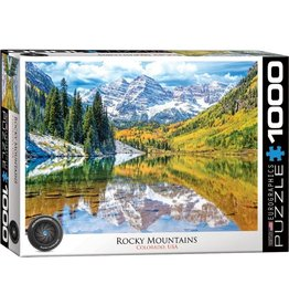 Eurographics Rocky Mountain National Park, Colorado (1000pc)