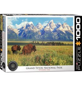 Eurographics Grand Teton National Park, Wyoming (1000pc)