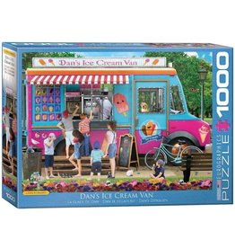Eurographics Dan's Ice Cream Van (1000pc)