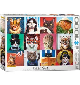 Eurographics Funny Cats (1000pc)