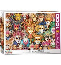 Eurographics Venetian Masks (1000pc)