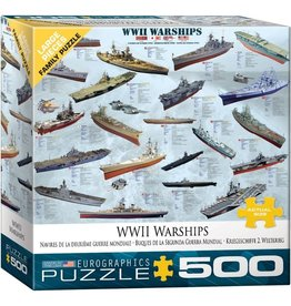Eurographics WWII War Ships (500pc)