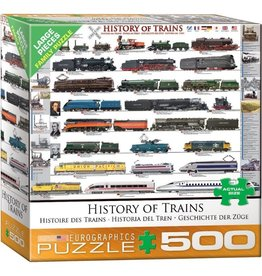 Eurographics History of Trains (500pc)