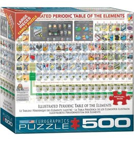 Eurographics Illustrated Periodic Table of the Elements (500pc)