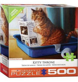 Eurographics Kitty Throne (500pc)