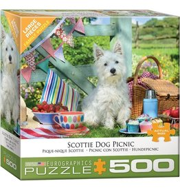 Eurographics Scottie Dog Picnic (500pc)