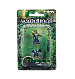 WizKids Wardlings (Girl Cleric & Winged Cat)