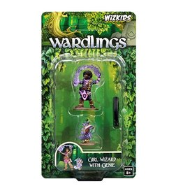 WizKids Wardlings (Girl Wizard & Genie)
