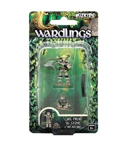 WizKids Wardlings (Girl Druid & Stone Creature)