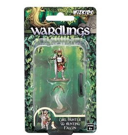 WizKids Wardlings (Girl Fighter & Hunting Falcon)
