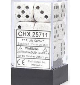 16mm D6 Dice Block (Speckled Arctic Camo)