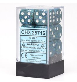 16mm D6 Dice Block (Speckled Sea)