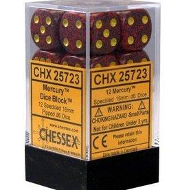 16mm D6 Dice Block (Speckled Mercury)