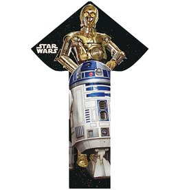 "Breezy Fliers Star Wars Droid Nylon 57"" Kite"