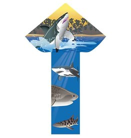 "Breezy Fliers Sharks 42"" Kite"