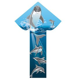 "Breezy Fliers Dolphins 42"" Kite"