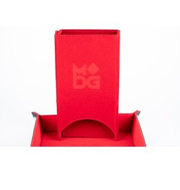 Dice Tower: Fold Up (Velvet - Red)