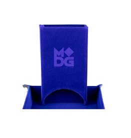 Dice Tower: Fold Up (Velvet - Blue)