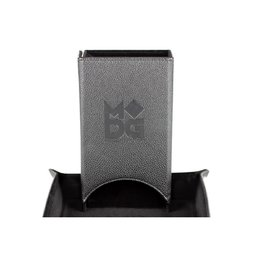 Dice Tower: Fold Up (Leather - Black)