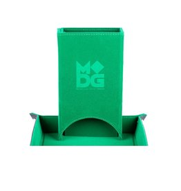 Dice Tower: Fold Up (Velvet - Green)