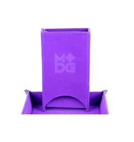 Dice Tower: Fold Up (Velvet - Purple)