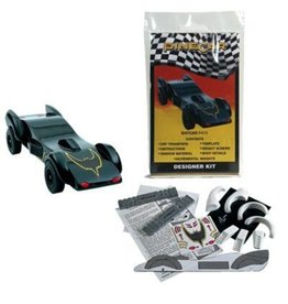 Pinewood Derby Designer Kit Batcar