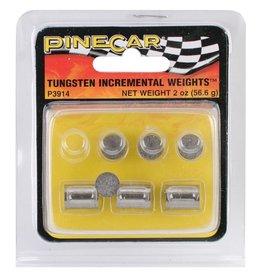 PineCar Tungsten Incremental Cylinder Weights 2oz