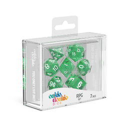 Polyhedral Dice Set (Speckled: Green)