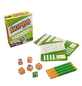 Skip-bo (Roll & Write Dice Game)
