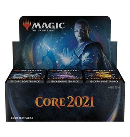Wizards of the Coast Magic the Gathering: Core 2021 Booster Display