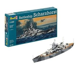 Scharnhorst German Battleship