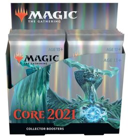 Wizards of the Coast Magic the Gathering: Core 2021 Collector's Booster Display