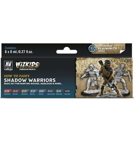 Vallejo Paint Set - Shadow Warriors (Rogues, Warlocks & More)