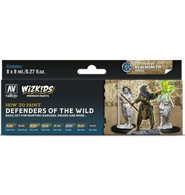 Vallejo Paint Set - Defenders of the Wild (Rangers, Druids & More)
