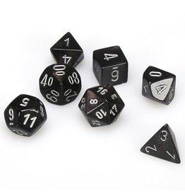 Polyhedral Dice Set (Borealis Smoke w/Silver)