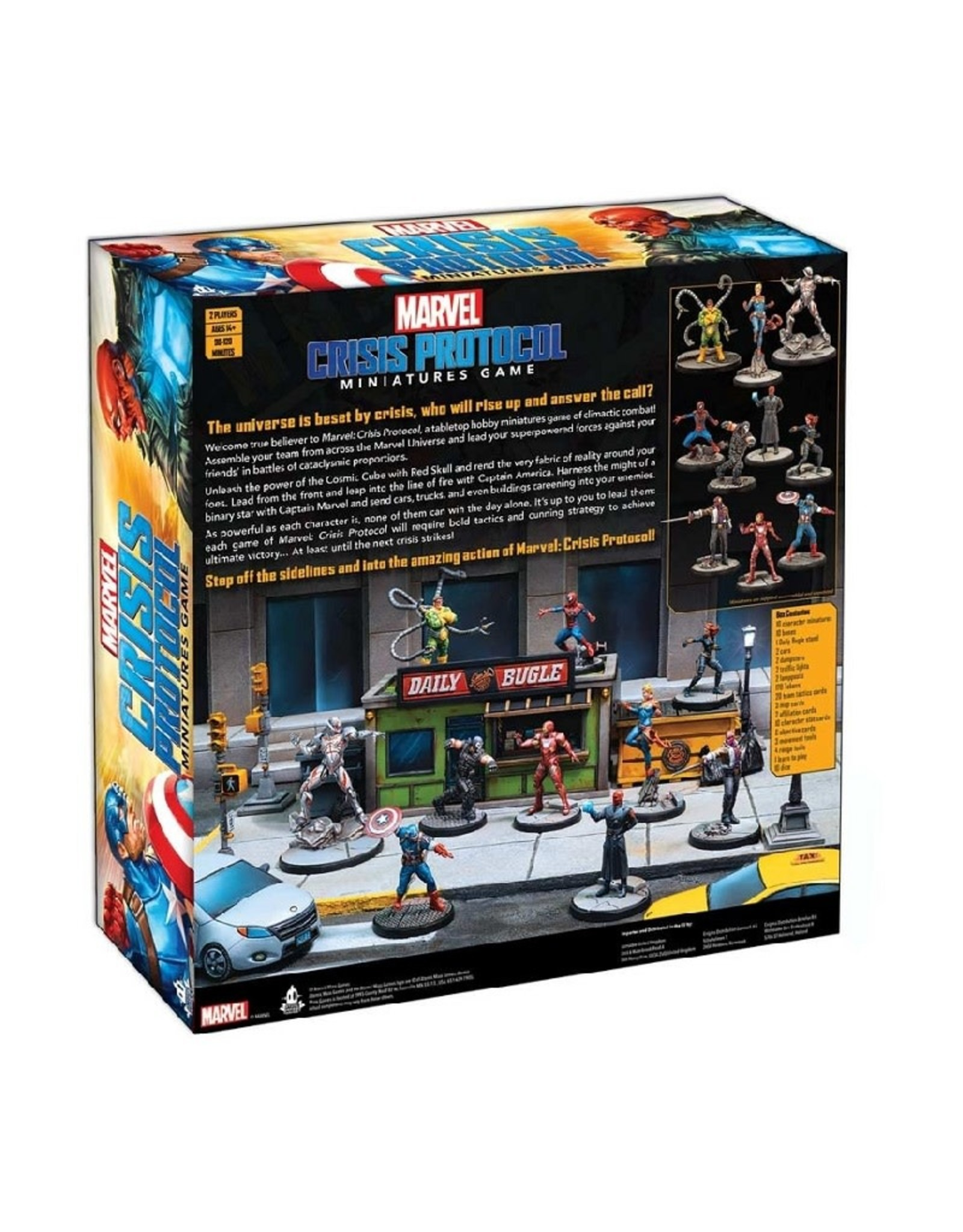 Atomic Mass Games Marvel Crisis Protocol (Core Set)
