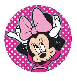 Minnie Mouse (Polka Dot) - Adhesive Fabric Patch