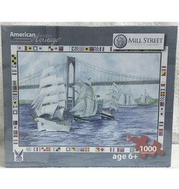 Mill Street Puzzle Company Sailboats (1000pc)
