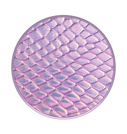 PopGrip Premium: Iridescent Snakeskin (Pink)