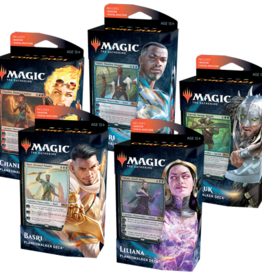 Wizards of the Coast Magic the Gathering Core 2021 Planeswalker Decks (Set of Five)