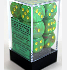 16mm D6 Dice Block (Vortex Slime w/Yellow)